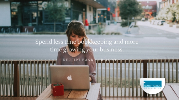 try receipt bank for xero with notch above bookkeeping brisbane