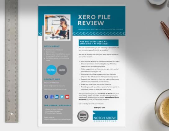 Xero File Review Service